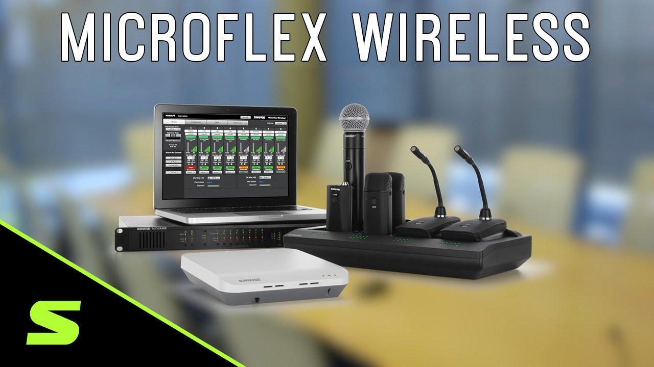 Shure microflex conference wireless